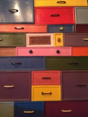 Drawers : Each holding a life lesson.